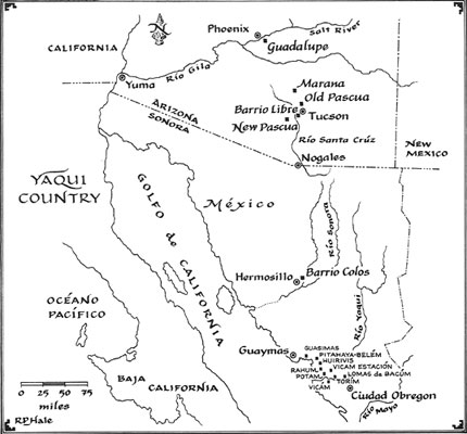 Map -- Yaqui Country