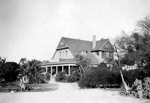 President's Home Completed 1893 and demolished 1937 for construction of Gila Hall