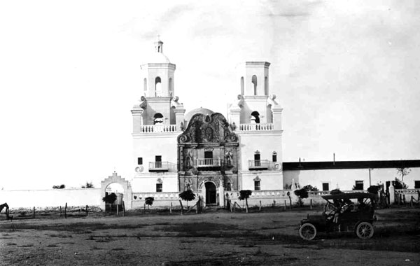 Nearly 20 years later, Tom Marshall took another picture of San Xavier.