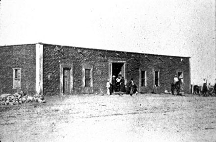 Sonoran adobe, ca. 1880