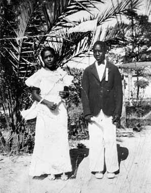 Marguerite Euell and Joseph Euell