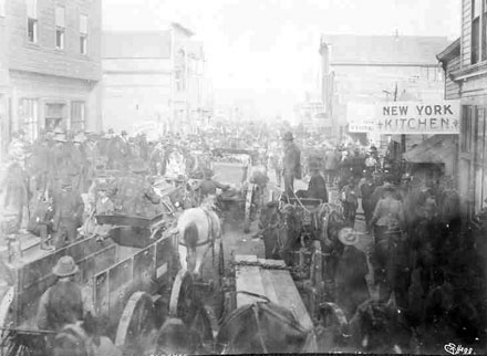 Stampeders in Nome, 1900