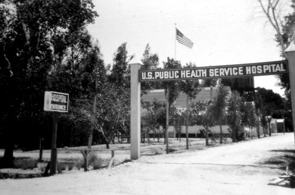 In the spring of 1920, the old Pastime Park on North Oracle Road was designated Public Health Service Hospital #51. This action was taken because of the thousands of World War I veterans who crowded into Tucson looking for medical treatment, or at least relief because of the warm, dry desert climate. In the absence of a formal medical institution to provide for their needs, they began squatting at the park site. Local officials and the Red Cross made arrangements for the park to be converted into a cottage hospital.