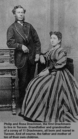 Philip and Rosa Drachman