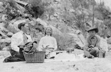 Picnicing in Sabino Canyon, circa 1920s