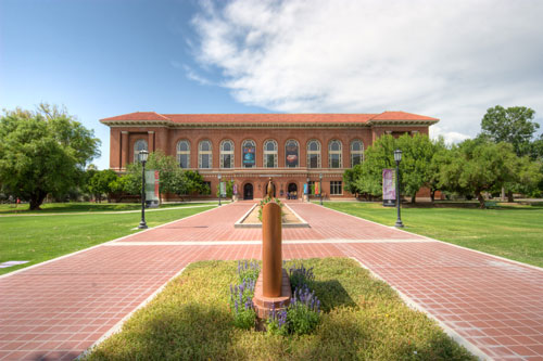 University Library now know as the Arizona State Museum - North