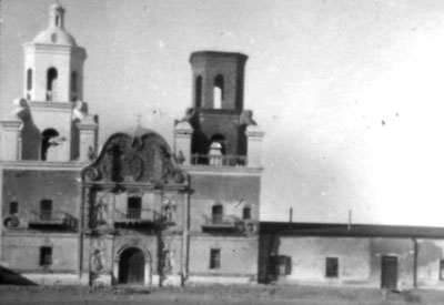 Wide view of the Mission taken c. 1903.