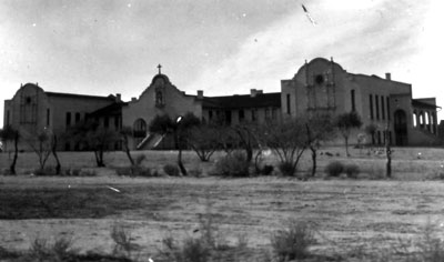 St. Joseph's Orphanage was located far south of town on Orphanage Road (South Twelfth Avenue).